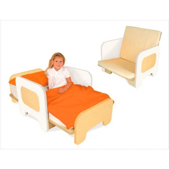 Toddler bed that converts to a chair! This would be great for over ...