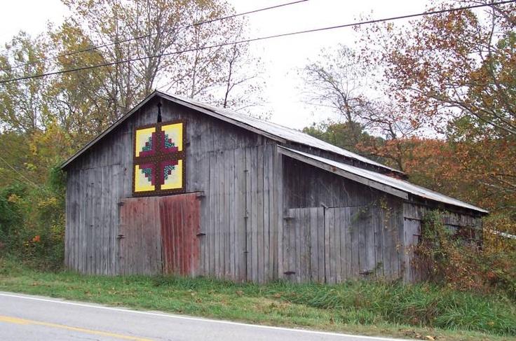 Quilt Patterns On Barns In Ky : Quilt Barn, Morgan Co., KY BARNS Pinterest