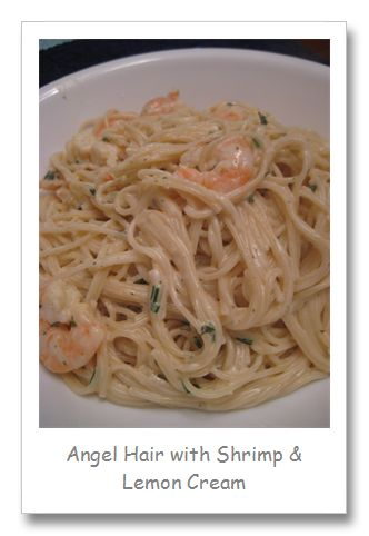 Angel Hair Pasta With Shrimp And Lemon Cream Sauce Recipes ...