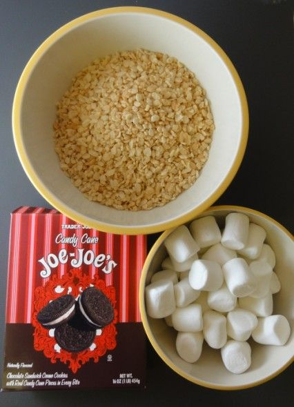 Candy Cane Crunch Krispie Treats Recipes — Dishmaps