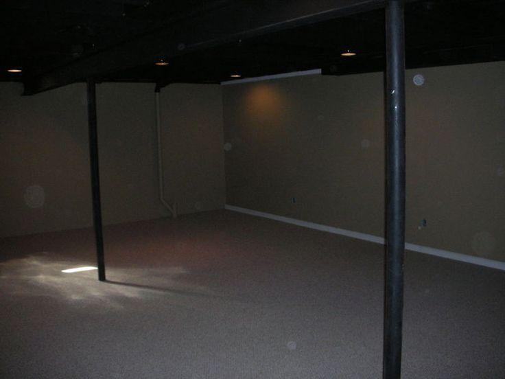 my diy on the cheap basement project the basement pinterest