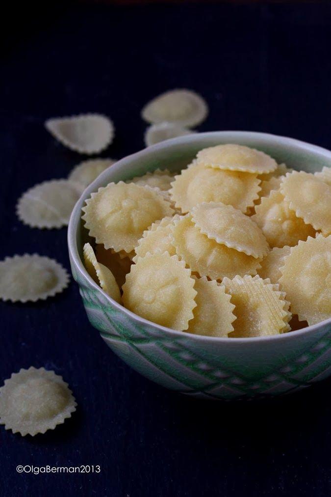 ... pasta?? Cappellacci Pasta with Broccoli Rabe & Meyer Lemon Juice