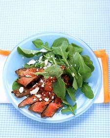 Flank Steak and Arugula Salad | Recipe