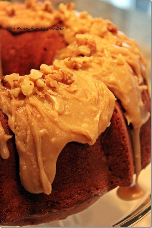 Apple Cream Cheese Bundt Cake | Recipes | Pinterest