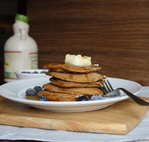 Blueberry Lemon Whole Wheat Pancakes | Pancakes & Waffles | Pinterest