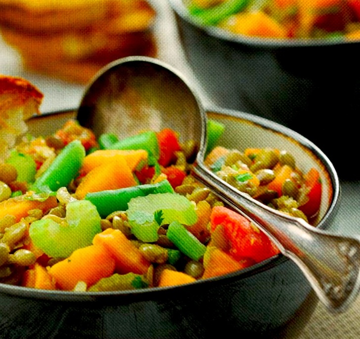Lentil and Sweet Potato Stew Recipe. | Canadian Canola | Pinterest
