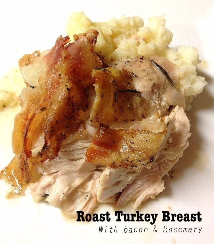 "Beer Can"" Turkey Breast With BBQ Gravy Recipe — Dishmaps"