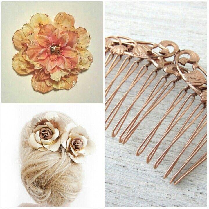 Rose Gold Hair Accessories | 92714 | Pinterest
