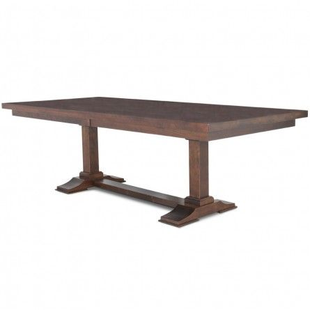 Gusa Texas Rustic Asbury Cherry Dining Table