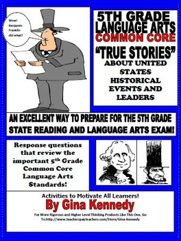 5th Grade Common Core Social Studies