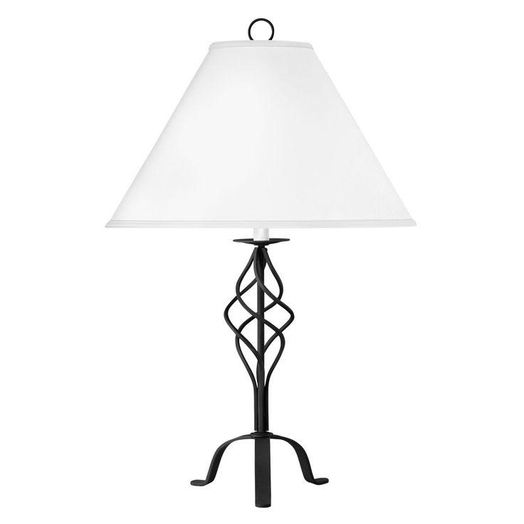 wrought iron table lamp decoraci n de interiores pinterest. Black Bedroom Furniture Sets. Home Design Ideas