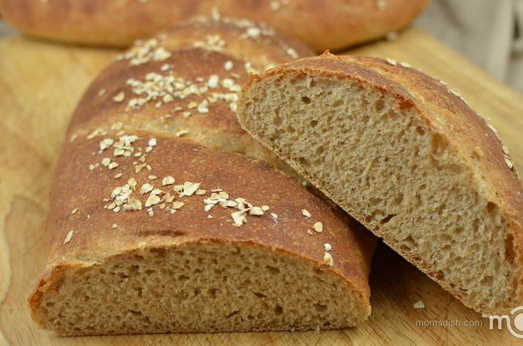 Oatmeal Wheat Bread | Mom's Dish