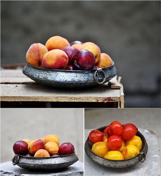 Rustic Peach 'n Plum Summer Galette | Tutti Fruitti | Pinterest