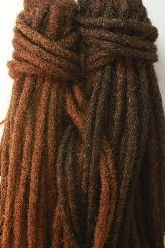 100 Human Hair Dread Extensions 29