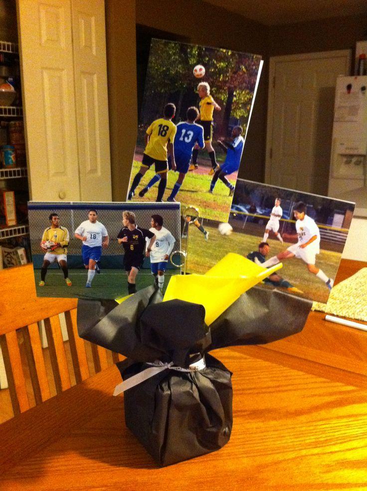 Soccer banquet centerpieces uhs pinterest