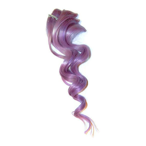 Lilac Clip In Human Hair Extensions 103