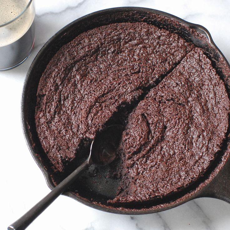 Chocolate Stout Skillet Brownie | Recipes - Desserts | Pinterest