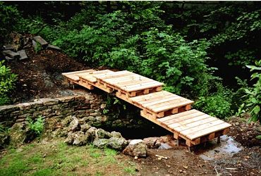Backyard Bridges Design Backyard design and Backyard ideas