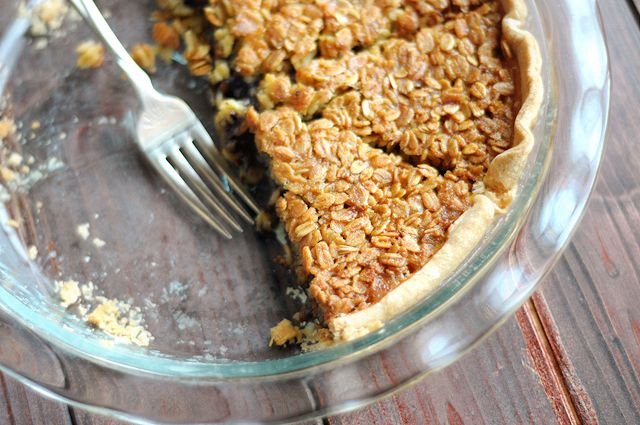Chocolate Chip Oatmeal Pie. Pecan Pie without all those pesky pecans ...