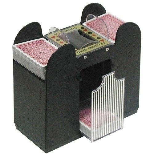 casino automatic 6 deck card shuffler