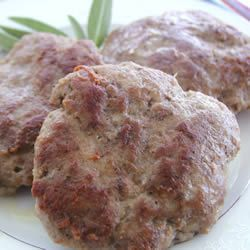 "Not my ""Mom's Turkey Sausage Patties"" 