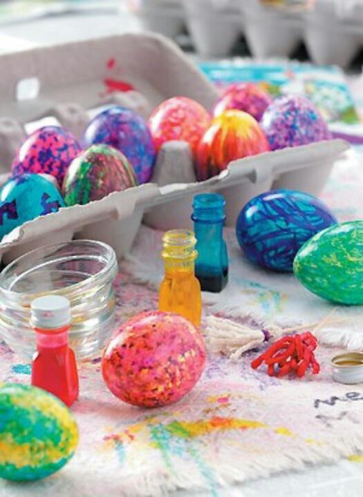 Easter Egg Dying Ideas Diy Ideas Pinterest