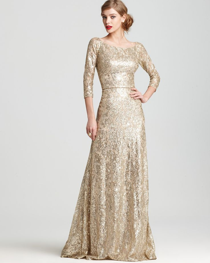 Gold Gown Looks Effortless And Classy And So Pretty All At The Same