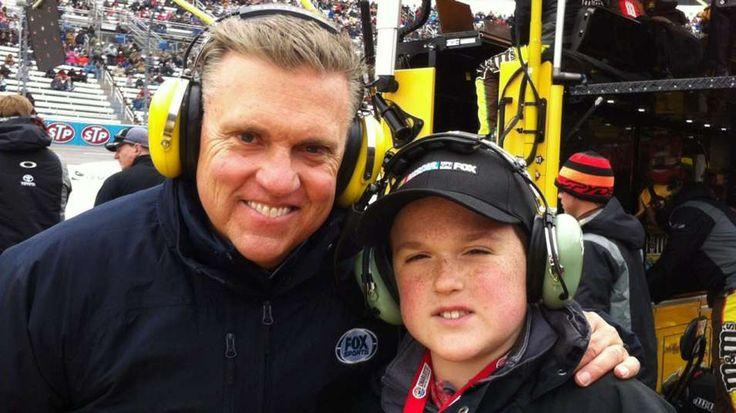 Steve Byrnes steps aside from NASCAR on FOX to focus on health, family ...