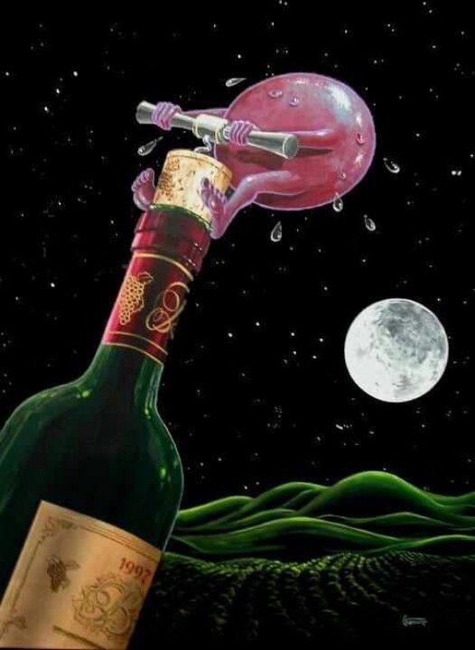 Wine Art Fun
