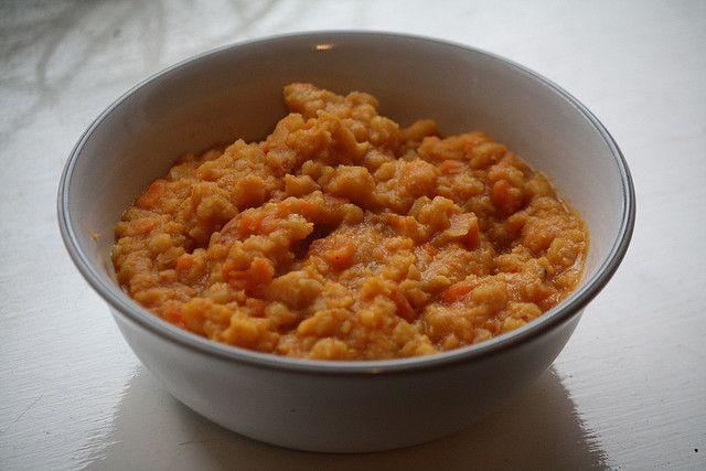 Kicked Up Coconut Split Pea Soup Recipe — Dishmaps