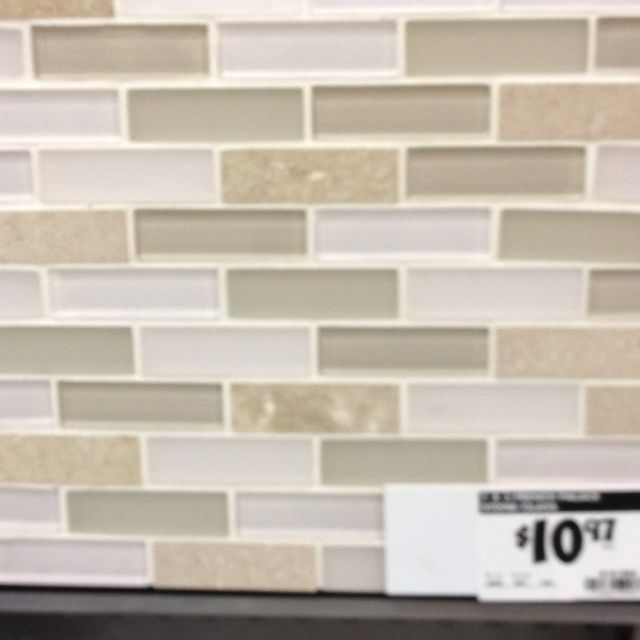 Kitchen Backsplash Idea Home Depot Kitchen Ideas Pinterest