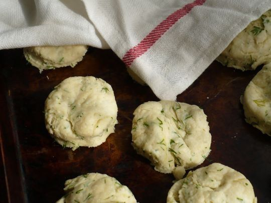 Yogurt Biscuits With Dill Recipe — Dishmaps