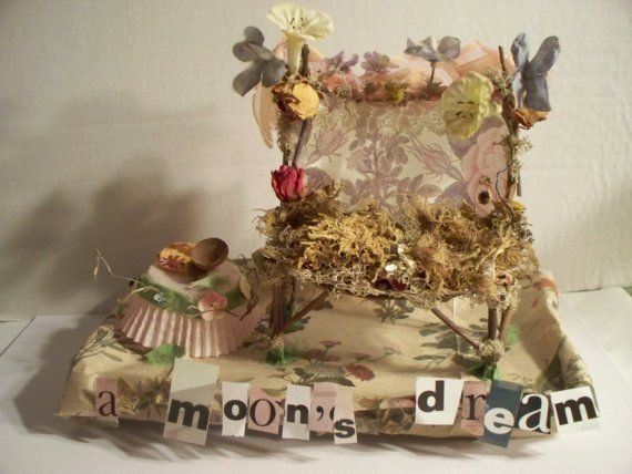 SALE Fairy Furniture A Moon 39 S Dream For The By Sunflowerhouse