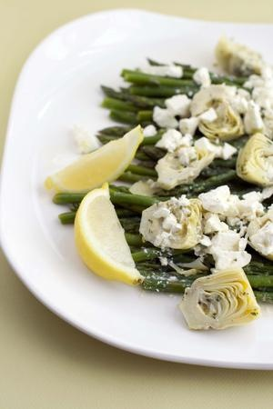 Artichoke and Asparagus Salad | Desserts/Treats | Pinterest