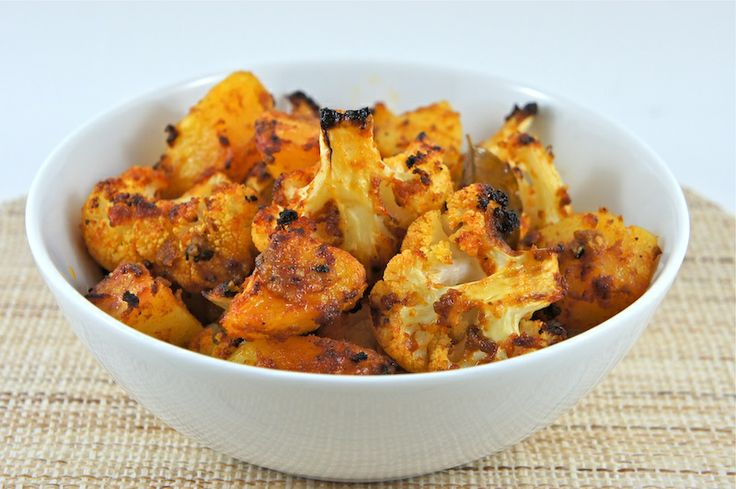 Spiced Roasted Cauliflower And Potatoes | Irresistible Indian | Pinte ...