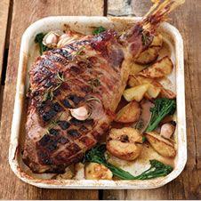 Cider and honey roasted leg of lamb. @Checkers #recipes #jennymoris