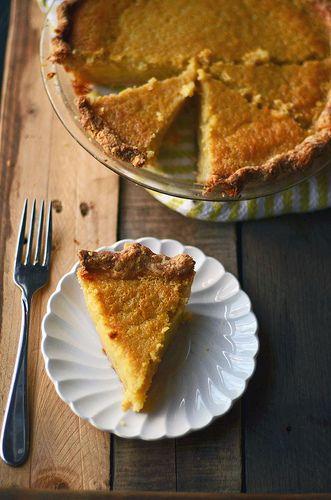 "Buttermilk Lemon Chess Pie | Old-Fashioned ""Goodies** | Pinterest"