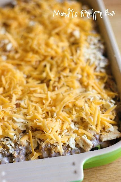 Zucchini Casserole...could use ground turkey or chicken in place of ...