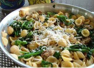 Orecchiette with Broccoli Rabe and Sausage | Recipe