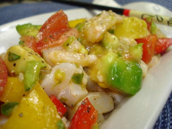 Scallop Ceviche | Food Blog Posts | Pinterest