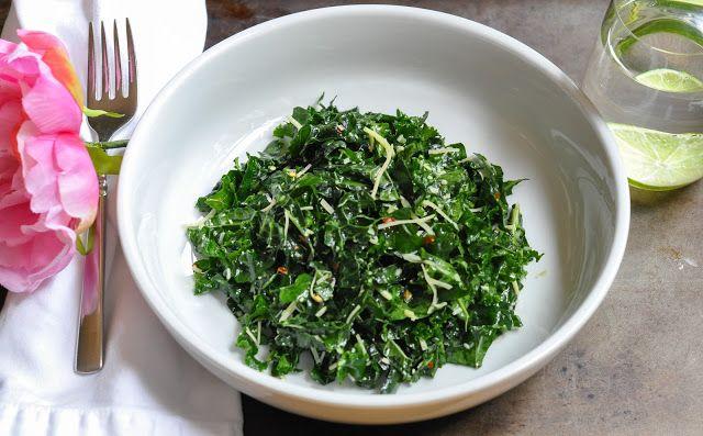 lacinato kale salad - Marin Mama Cooks - I made this tonight. My ...