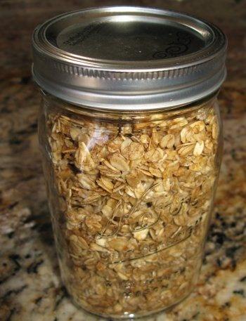 Coconut Cinnamon Granola | Bits of Whimsy