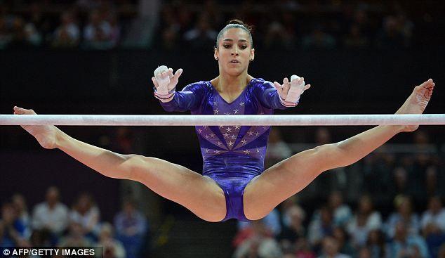 College Gymnastics Girls Camel Toe
