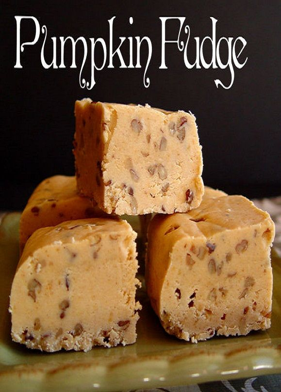Pumpkin Fudge by Jamie | Recipes | Pinterest