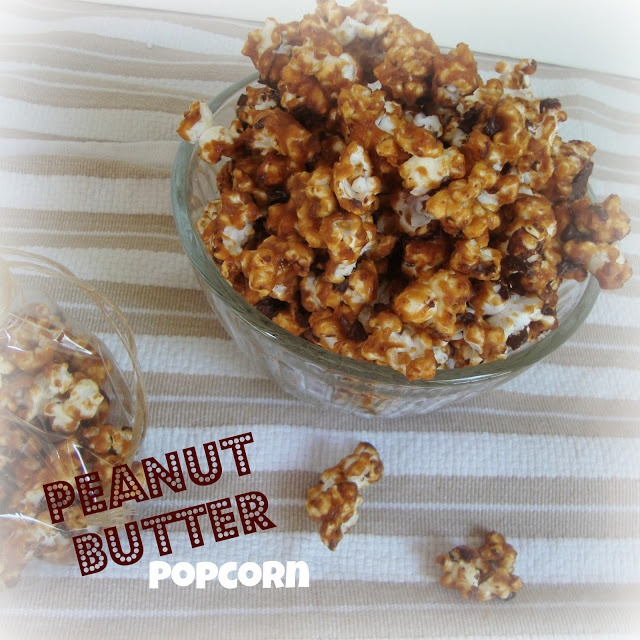 Peanut Butter Popcorn from Chocolate, Chocolate and more