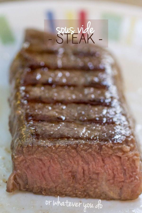 Simple Sous Vide Steak | Recipe