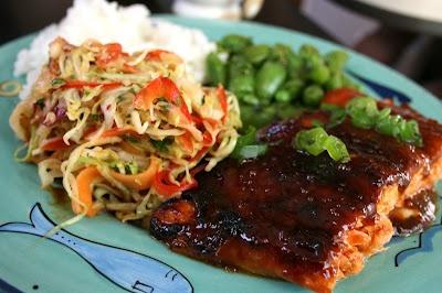 or cold miso sriracha glazed salmon is a great dinner miso sriracha ...