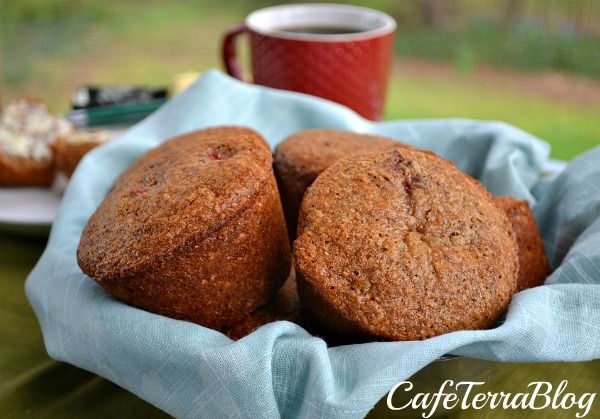Strawberry Banana Quinoa Bran Muffins - Well, I guess I'm going to ...