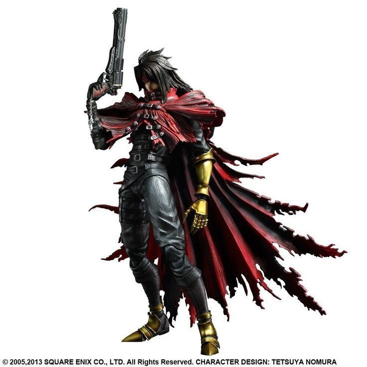 vincent valentine play arts review