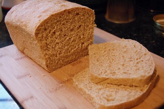 Basic Sourdough Loaf Bread....all whole wheat, minimal kneading!